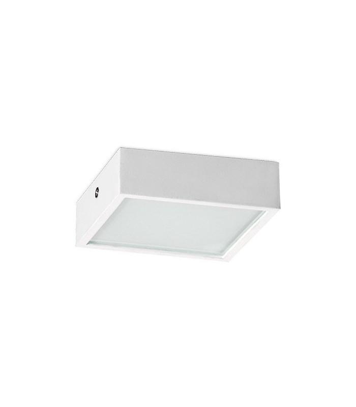 White aluminum plafon Mini 4220