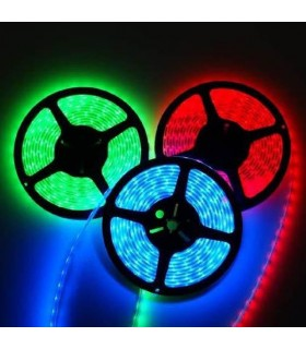 RGB LED strip inside-outside