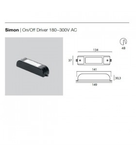 Simon Driver On/Off 99126