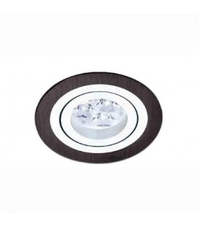 Empotrable Aluminio Negro 3053