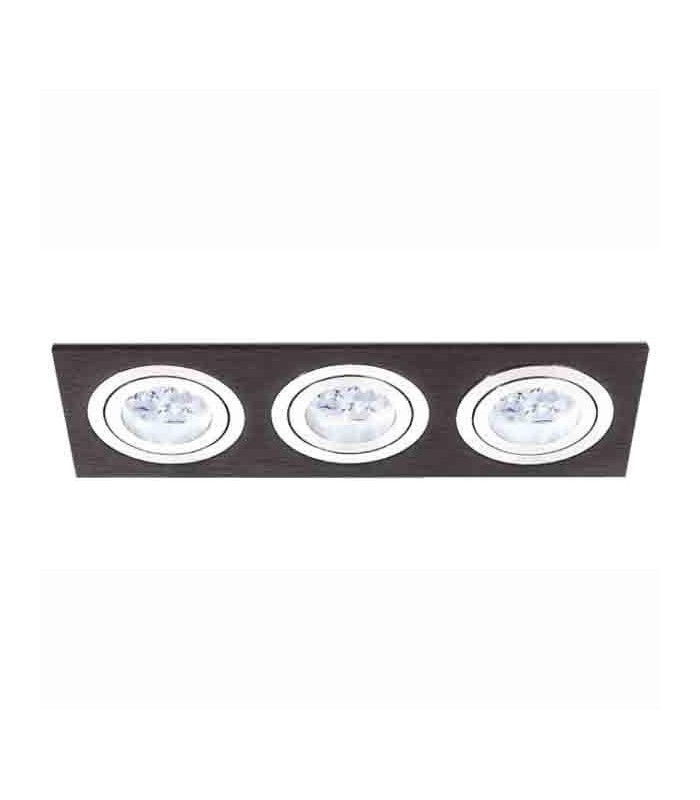 Black Aluminum Recessed Lighting 3056 BPM
